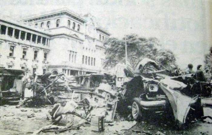Palacio Nacional 5 de Septiembre de 1980