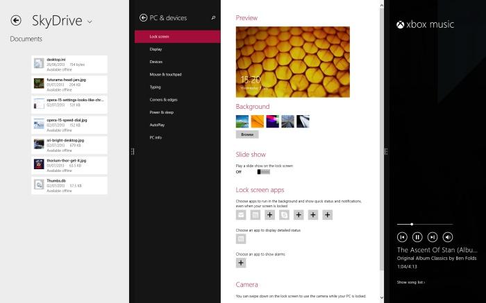 Multi-Metro-App Snapping