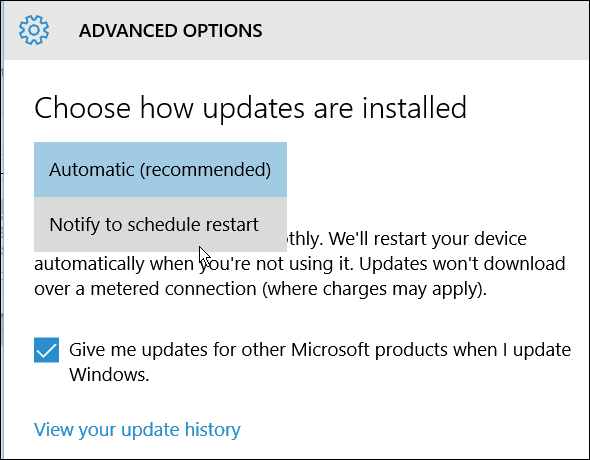 Advanced Restart Windows 10